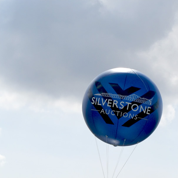 The Silverstone Auctions inflatable sphere