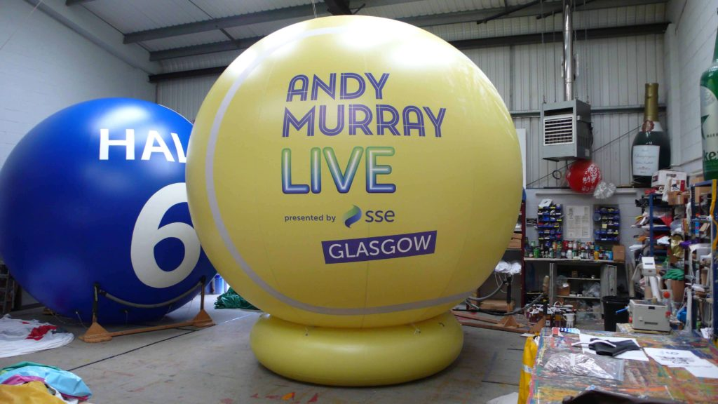 Andy Murray Live Inflatable Ball