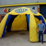inflatable hella marquee