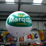 Marquis Caravans exhibition sphere