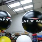 Dafy Moto exhibition inflatables