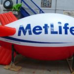 Bespoke blimp for MetLife
