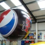 Pepsi Max helium filled sphere