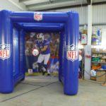 Branded NFL inflatable archway