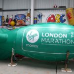 London Marathon starting blimp