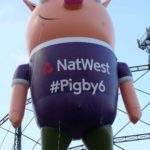 NatWest Pigby6 pig inflatable