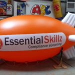 Orange blimp for Essential Skillz