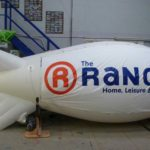 Rental blimp for The Range
