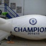 Chelsea Champions 2014/15 on hire blimp