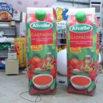 Giant product replica Alvalle Gaspacho inflatables