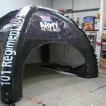 inflatable marquee branded