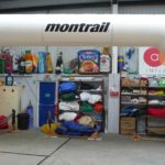 Wide inflatable arch for Montrail