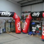 2 Dafy inflatable arches in ABC workshop