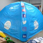 inflatable branded tent
