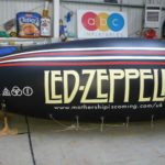 Led Zeppelin blimp for Mothership album