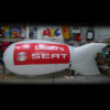 Branded hire blimp