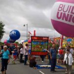 Parade spheres for trades unions