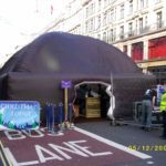 Cadbury Christmas lodge by ABC Inflatables
