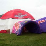 inflatable dome for Vimto