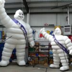 Large and huge Michelin Men