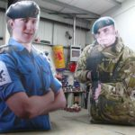 Giant military recruits by ABC Inflatables