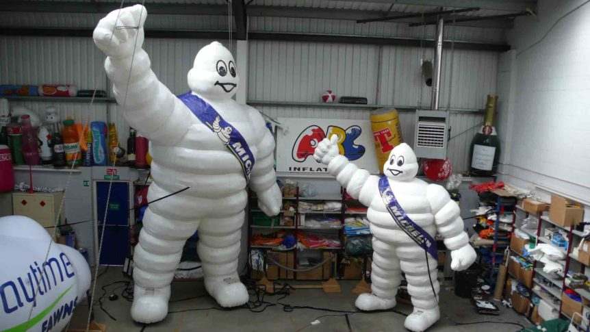 Inflatable Michelin Man