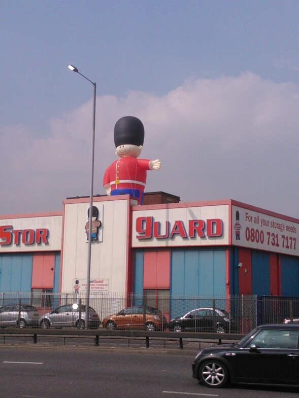 guardsman inflatable