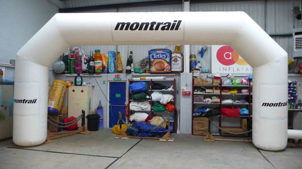 Montrail Giant Inflatable Arches