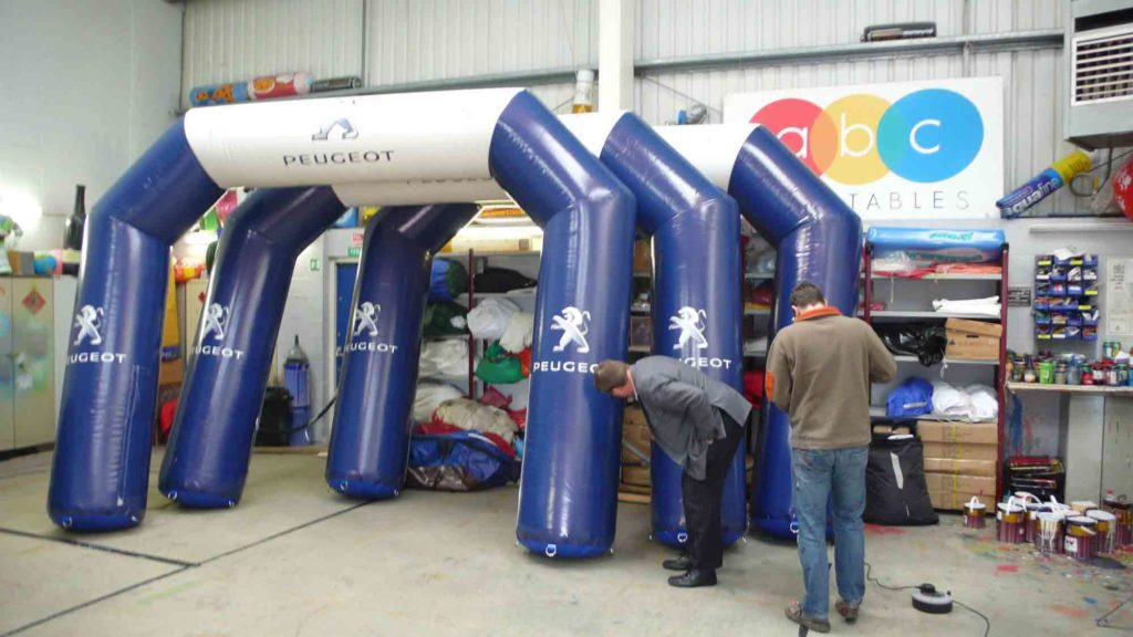 Peugeot Giant Inflatable Arches