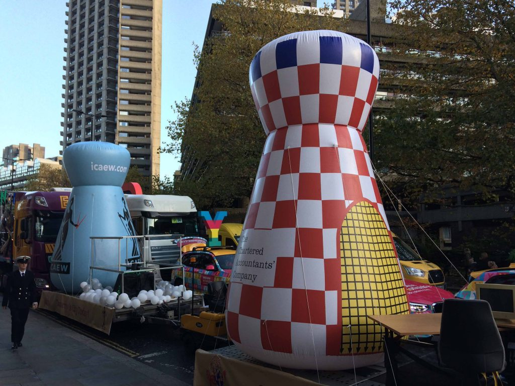 ABC Inflatables at Lord Mayor's Show