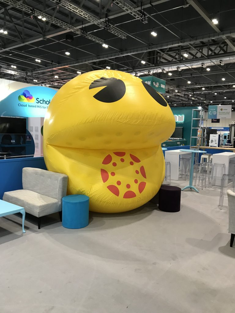 promotional inflatable pacman