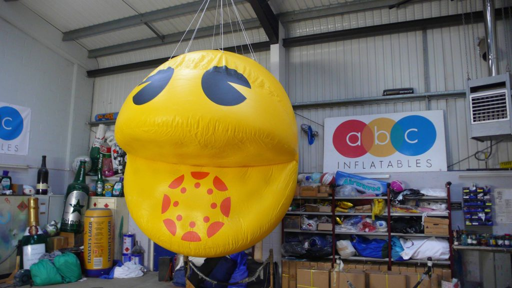 inflatable pacman