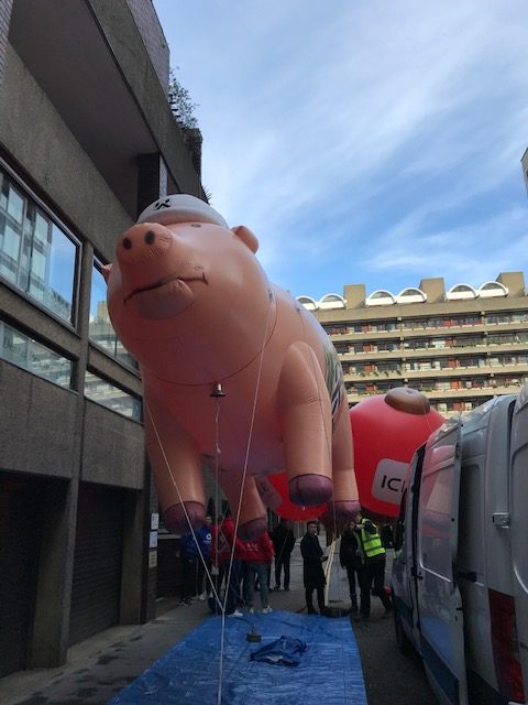 paviours pig lord mayor's show 2019